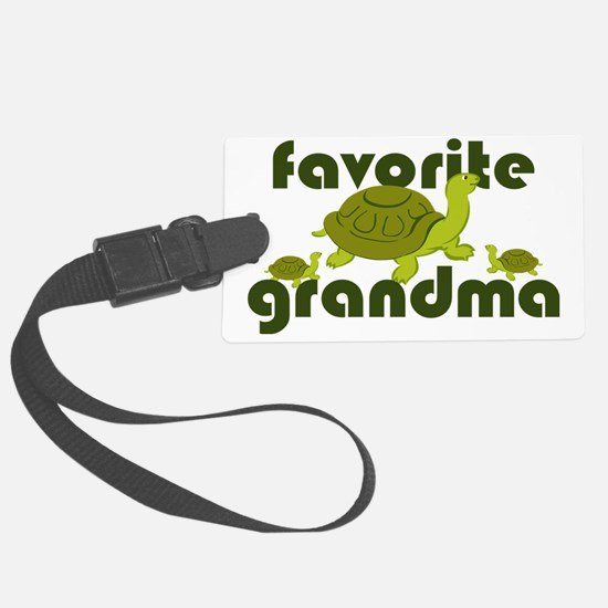 Favorite Grandma Luggage Tag