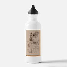 Irish_Terrier_KlineSq Water Bottle