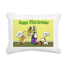kitty curry 30th birthda Rectangular Canvas Pillow