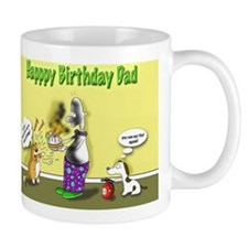 Kitty curry Birthday dad Mug