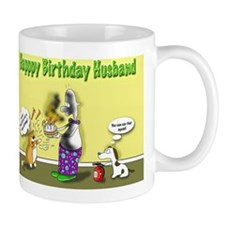 kitty curry birthday husband Mug