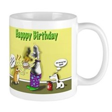 kitty curry birthday Mug