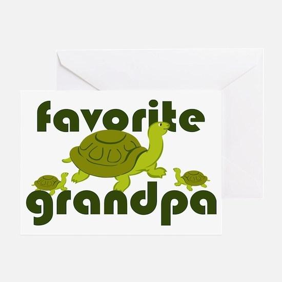 Favorite Grandpa Greeting Card