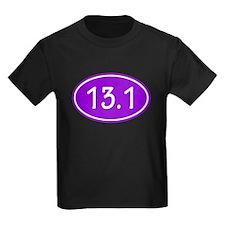 Purple 13.1 Oval T-Shirt