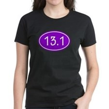 Purple 13.1 Oval T-Shirt