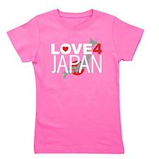 Love For Japan 2 Girl's Tee