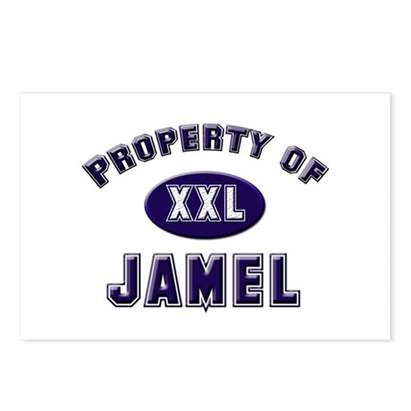 Property of jamel Postcards (Package of 8)