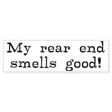 Good Smelling Rear End Bumper Sticker