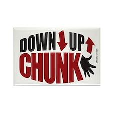 Down Up Chunk Ukulele 5x3 oval Rectangle Magnet