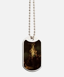 Descent From the Cross Dog Tags