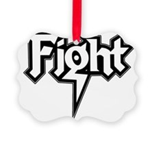 Fight-Logo-10x10top Ornament