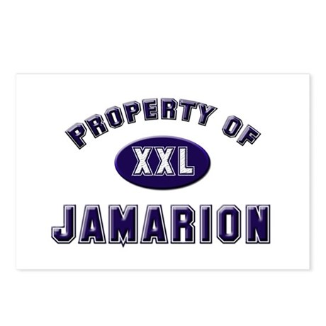 Property of jamarion Postcards (Package of 8)