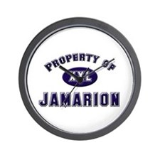 Property of jamarion Wall Clock