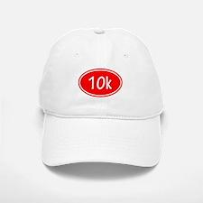Red 10k Oval Baseball Baseball Baseball Cap