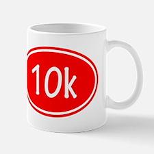 Red 10k Oval Mugs
