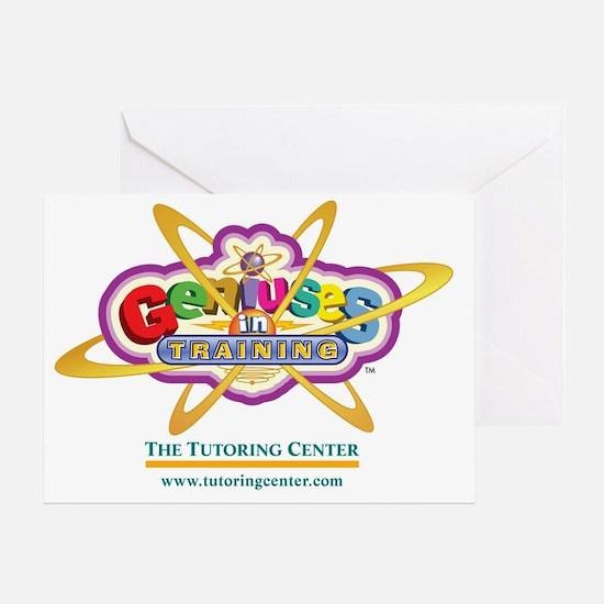 Genius Sticker_1 Greeting Card