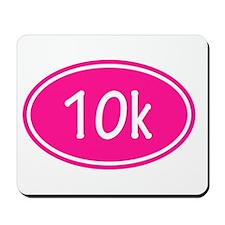 Pink 10k Oval Mousepad