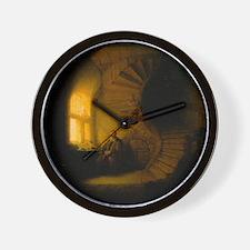 Philosopher in Meditation Wall Clock