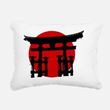 Shinto Shire Japan Rectangular Canvas Pillow