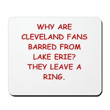 cleveland fans Mousepad