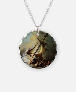 Storm on the Sea of Galilee Necklace