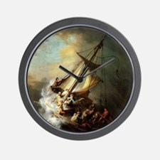 Storm on the Sea of Galilee Wall Clock