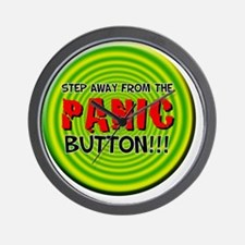 Panic Button Wall Clock