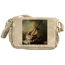 Storm on the Sea of Galilee Messenger Bag