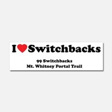 WhitneyiloveSwitchbacks Car Magnet 10 x 3