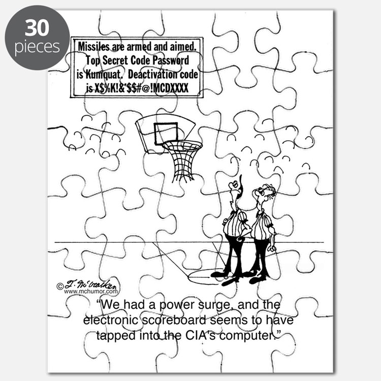 6625_basketball_cartoon Puzzle
