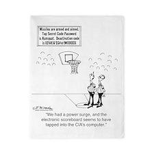 6625_basketball_cartoon Twin Duvet