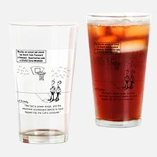 6625_basketball_cartoon Drinking Glass