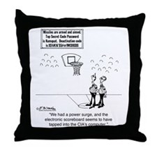 6625_basketball_cartoon Throw Pillow