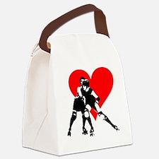 RCRD.evahitsheart Canvas Lunch Bag