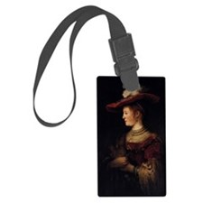 Saskia in a Pompous Dress Luggage Tag