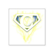 "super lightning c Square Sticker 3"" x 3"""