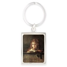 Titus Portrait Keychain