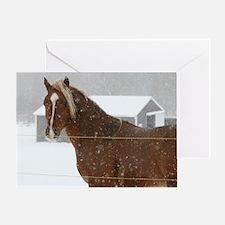 horsemousecafe Greeting Card