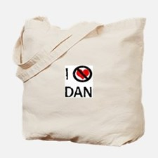 I Hate DAN Tote Bag