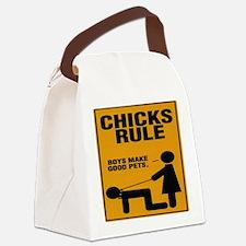 ChicksRule Canvas Lunch Bag