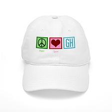 peaceloveGHwh Baseball Cap