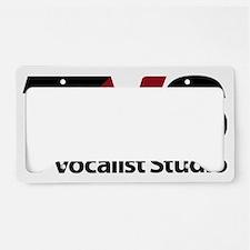 logo-letterhead-black-maroon License Plate Holder