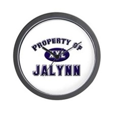 Property of jalynn Wall Clock