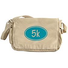 Sky Blue 5k Oval Messenger Bag