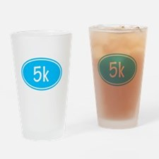 Sky Blue 5k Oval Drinking Glass
