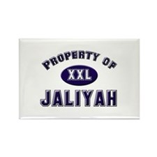 Property of jaliyah Rectangle Magnet