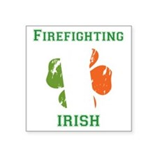 "fireirish Square Sticker 3"" x 3"""