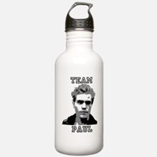 Team Paul Black Water Bottle