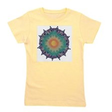 Pointy Lace sun Girl's Tee