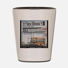 DeMotivational - Sex Show Bus Shot Glass
